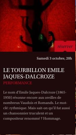 Le tourbillon Emile JD