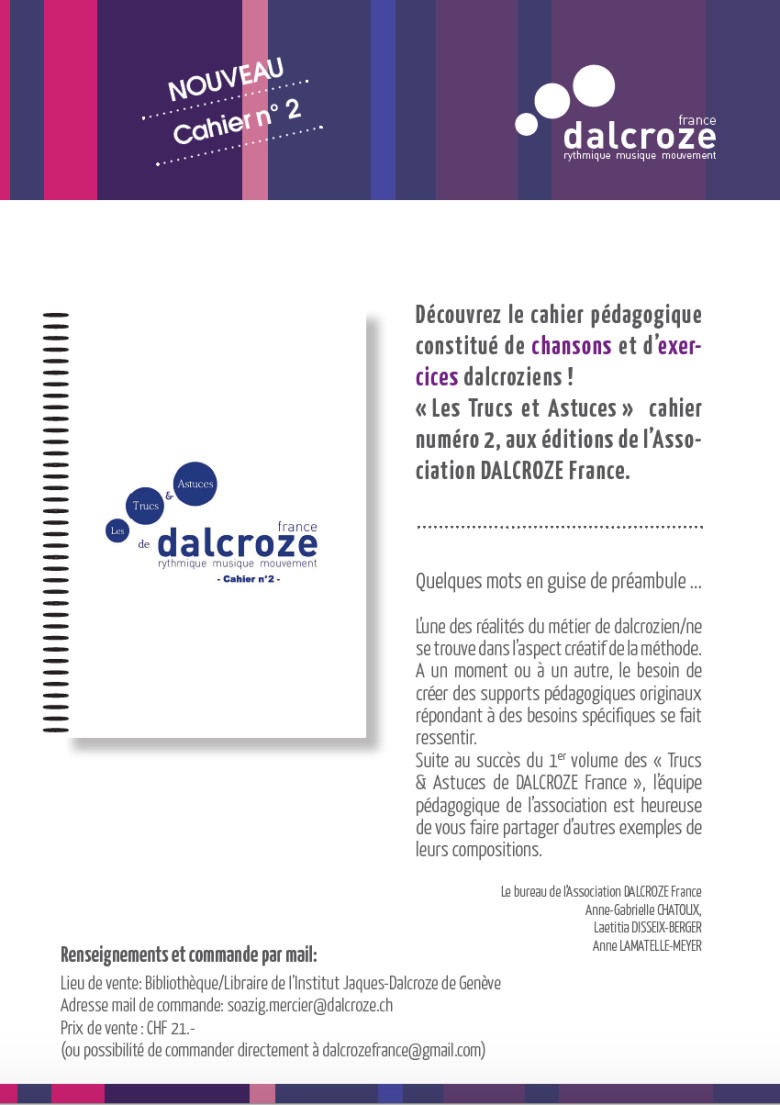 DalcrozeFrance cahier 2